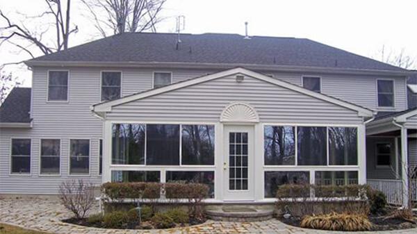 Windows And Siding On Home